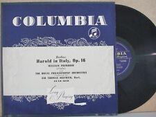 33CX 1019 B/G UK-William Primrose Viola/Beecham RPO-Berlioz: Harold in Italien LP