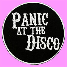 Panic At The Disco Pop Punk Music Rock Band Embroidered Iron On Patch