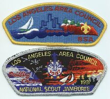 LOT OF 2 CSP/JSP - LOS ANGELES AREA COUNCIL - S-1 & 1997 NJ - MERGED IN 2015