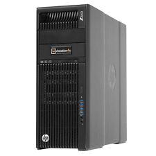 HP Z640 EXTREME MUY Workstation 2x Intel e5-2623v3 500GB SSD Quadro K4200 W10