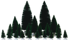 """LEMAX CHRISTMAS VILLAGE """"ASSORTED FIR TREES"""" MPN NO. 74691, 21 TREES, ACCESSORY"""