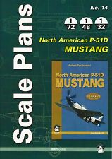 Mushroom Model Scale Plans No. 14: North American P-51D Mustang