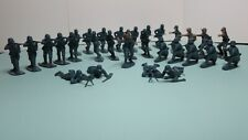 Airfix German Infantry Figures 1/32 Scale, 30 figures some damaged or painted