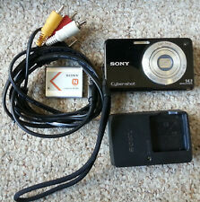 Sony Cyber-Shot DSC-W560 14.1MP Digital Camera - Black