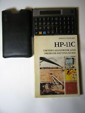 HP-11C Calculator With Manual & Slip Case, Excellent condition