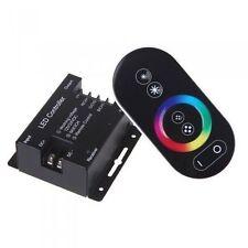 TELECOMANDO TOUCH CONTROLLER STRISCIA STRIP LED RGB 12V/24V 18A WIRELESS