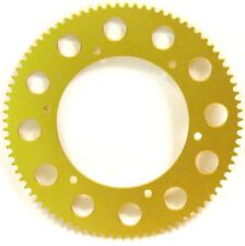 93 Tooth #219 Chain Gold Solid Alloy Sprocket - Mini Bike & Go Kart Racing Parts
