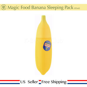 Tony moly Magic Food Banana Sleeping Pack85ml + Free Sample [ US Seller ]