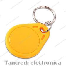 Tag token rfID 13.56 MHz per lettore RC522 compatibile NFC Arduino PIC arancione