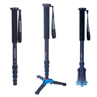 koolehaoda 65-inch Camera Aluminium Monopod With Folding Support Base
