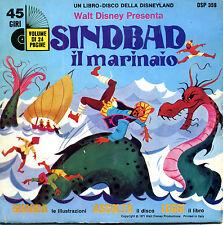 Disney_SINDBAD il marinaio - coll. Guarda Ascolta Leggi_con DISCO, 1971* Ottimo