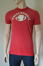 NEU Abercrombie & Fitch Palmer Brook rot Destroyed Tee T-Shirt XL Rrp £ 68