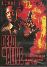 DEAD OR ALIVE - BRAND NEW ENGLISH DVD - FREE UK POST