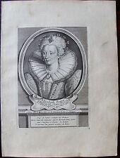 ELISABETH REINE D'ANGLETERRE, FILLE DE HENRY VIII..... A Paris , Desrochers. Por