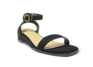 Ex Oasis Womens Ladies Summer Low Wedge Sandals Ankle Strap Shoes Size 3 - 8