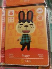 animal crossing new leaf welcome  amiibo card pippy 267