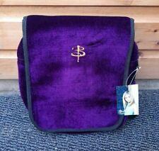 More details for vtg official buffy the vampire slayer btvs purple velvet shoulder bag bnwt
