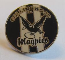 33780 COLLINGWOOD MAGPIES AFL FOOTBALL HERITAGE RETRO PIN BADGE