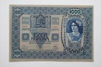 Austria 1000 Kronen 4-10-1920 Pick 48 UNC Uncirculated Banknote B27 BLEI - 43