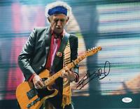 Keith Richards signed autographed 11x14 photo! Rolling Stones! RARE! JSA LOA!