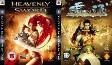 Genji Days of the Blade & heavenly sword