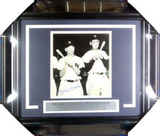 Mickey Mantle & Ted Williams Autographed Framed 7x7 Photo Beckett COA A74170