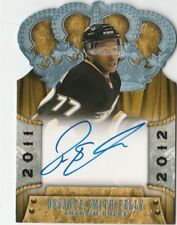 2011-12 Crown Royale #157 Devante Smith-Pelly Auto RC Anaheim Ducks