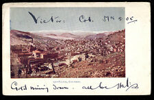1905 City Of Victor Co Colo Postcard Up Close, Above View Pc7101
