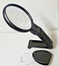 Magnifying Glass with Light Plus Mini Portable Magnifying Glass