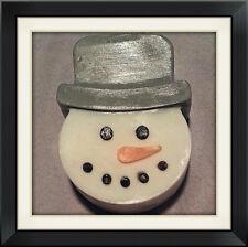 Organic Handmade Snowman Christmas Winter Snow Soap