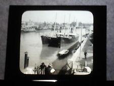VINTAGE COLLECTIBLE GLASS PICTURE NEGATIVE Guadalquiver Bridge of Isabel Seville