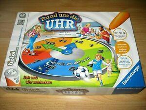 Rund um die Uhr Ravensburger 2015 Tiptoi Kinder Lernspiel komplett & aus 1.Hand