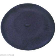 Chapeaux béret bleu pour femme