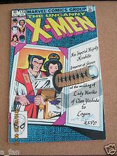 Uncanny X-Men #172 August 1983 Marvel - Wolverine Wedding - Paul Smith