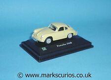 Cararama 1:72 - Porsche 356b - Yellow