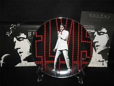 """1991 DELPHI ELVIS PRESLEY COLLECTOR PLATE - """"IF I CAN DREAMI"""" -  IN ORIG. BOX"""