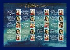 2017 Christmas Madonna & Baby (2nd to £2.27)  Smiler Sheet LS107 - Superb U/M