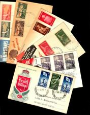 6 NEW ZELAND COVERS, DIFFERENT YEARS 1931-1952