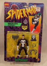 Spider-Man Animated Series The Punisher Figure By Toy Biz (MOC) Marvel Universe