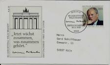 """BRD FDC MiNr 1706 (1Blnb) """"80. Geburtstag von Willy Brandt"""" Politiker-Nobelpreis"""