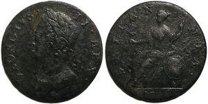 UK 1745 George II Halfpenny
