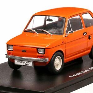 Communist Car Collection- Polski Fiat 126P, Hachette Diecast, New