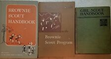 Brownie Scout Handbook/ Brownie Scout Leader's Guide/Girl Scout all H/C