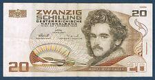 AUTRICHE - 20 SCHILLING Pick n° 148  du 1 octobre 1986 en TTB E 810541 N
