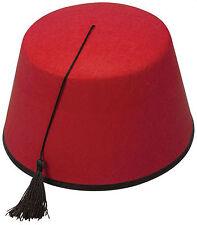 Red Fancy Hats and Headgear