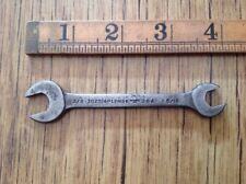 "VINTAGE USA Lead 3/8"" X 5/16""AF Open Ended Spanner."