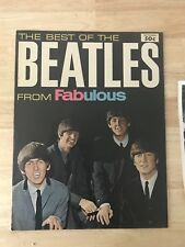 RARE THE BEATLES MAGAZINE/PROGRAM SOUVENIR IN 1964 BEST OF THE BEATLES FABULOUS