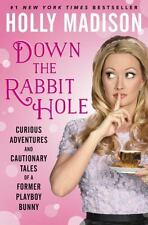 Down the Rabbit Hole by Holly Madison Book Hardcover Playboy Bunny Biography New