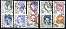 ITALIA 2002 - DONNE NELL'ARTE SERIE USATA