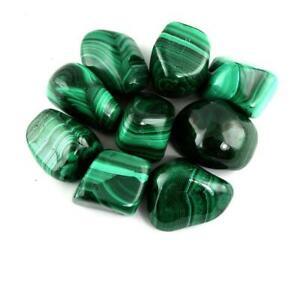 Natural Malachite High Graded Tumbled Stone